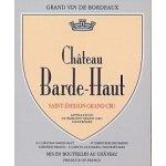 Barde Haut St. Emilion Grand Cru Classé červené 2013 0,7 l