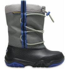 Crocs Swiftwater Waterproof Boot K šedá d1d95b4651
