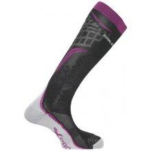Salomon ponožky X PRO wild berry/black/white