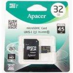 Apacer microSDHC 32GB UHS-I U1 AP32GMCSH10U1-R