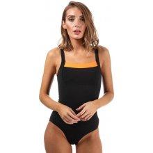 Speedo Womens Sculpture Contour Renew Swimsuit Black 348271af2b