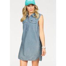 d35f4f9d3b Wrangler riflové šaty Western Dress světle modrá