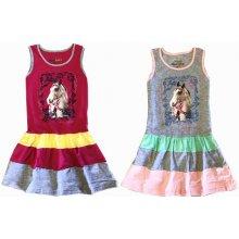 KUgo dívčí šaty růžová 04a99136a4