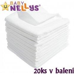 Baby Nellys Kvalitní bavlněné pleny TETRA LUX 60x80cm 20ks v bal. Heureka.cz