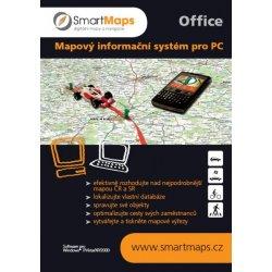 SmartMaps Office - Mapy ČR a SR pro PC