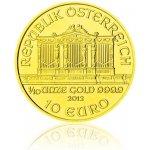 Wiener Philharmoniker Investiční zlato zlatá mince 10 EUR 1 10oz