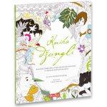 Kniha džunglí klasická pohádka a kouzelné omalovánky Pohádkové omalovánky