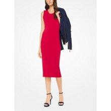Michael Kors dámské šaty Ruffled dress červená b3951a2f91