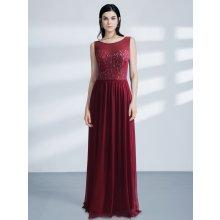 Ever Pretty luxusní šaty s krajkou 7543 červená 8620163505