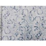 a8fc7e1d238d Hoffman 3290-063 vánoční stříbrotisk cesmína bílá bavlněná látka patchwork