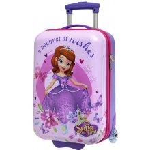 Joummabags ABS cestovní kufr Princezna Sofie první motýlci 50x31x20 cm 26 l