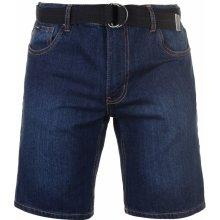 0f2e50a8264 Pierre Cardin Cardin denim Web Belt shorts Mens Dark Wash