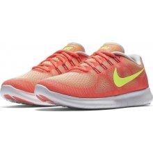 Nike FREE RN 2017 W oranžové 880840-800 558d3bdf83