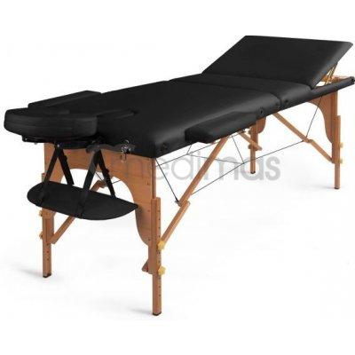 Medimas dřevěné masážní lehátko Prosport 3 - barva černá