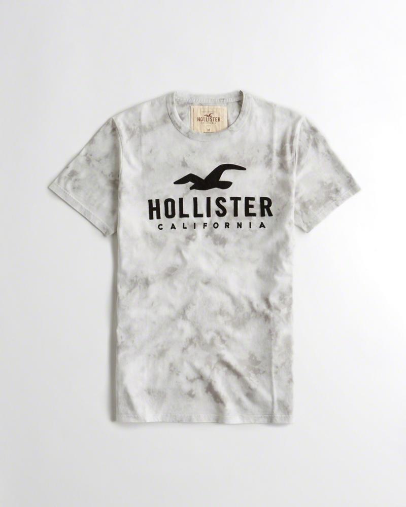 c76d4e5a85 Hollister Co. Pánské tričko Hollister s nášivkou tělová alternativy -  Heureka.cz