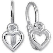 Brilio Silver Dětské stříbrné náušnice 431 001 02660 04