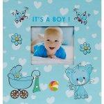 Dětské fotoalbum, 10x15, zasunovací, KD-46200B Kitty 1 modré