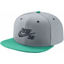 Nike Sb Icon Snapback grey/mint o/