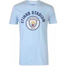 Source Lab Manchester City FC T Shirt Mens Sky