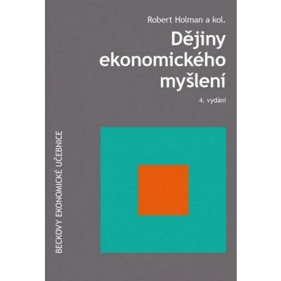 Dějiny ekonomického myšlení 4. vydání