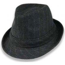 cf77e753a5f Pánský šitý klobouk šedá C12IMP XL 126 07SC