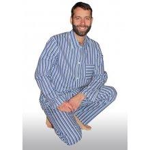 2ce5b0a8a Luiz Karel pánské pyžamo dlouhé propínací modré