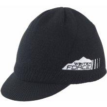 FORCE WINTER s kšiltem černá