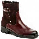 Di Janno De plus 9748 bordó dámské nadměrné kotníčkové boty 4d835c6065
