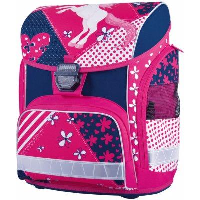 ... Stil batoh anatomický Romantic 2 černá růžová motýli ... 9ffc4b4033
