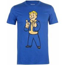 Character Fallout 4 T Shirt Mens Shooting Finger