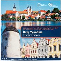 Česká mincovna Sada oběžných mincí 2018 Kraj Vysočina stand 90 g