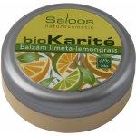 Saloos BIO karité balzám Limeta Lemongrass 19 ml