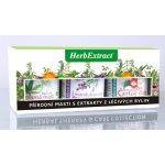 HERB EXTRACT dárková bylinné masti 3 x 125 ml A 3 x 125 ml dárková sada