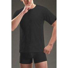 Pánské tričko podvlíkací krátký rukáv černé