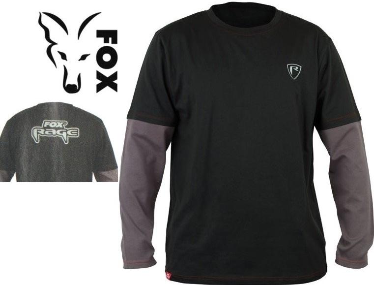 0a85a2a82a Fox Rage Long Sleeve Shield Rybářské tričko s dlouhým rukávem od 539 Kč -  Heureka.cz