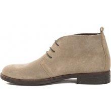 55daec9e8cd9 Trussardi Collection Pánské kotníkové boty PL10 MOGLIA Brown Beige