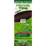 Herbal Time Henna přírodní barva na vlasy (Přírodní hnědá - 10 ) 75 ml
