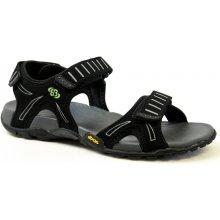 BRÜTTING Aruba V 401005 černé, pánské sandály