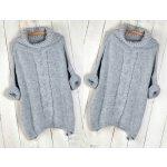 e2701a957cb Fashionweek Oversize svetr s rolákem pro chladné dny tlustý