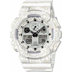 Casio GA-100CG-7A. Pánské stylové a nárazuvzdorné hodinky s kombinovaným  ciferníkem CASIO G-SHOCK ... 217985cfcb