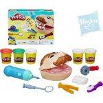 Hasbro PLAY-DOH Modelína Zubař set s vrtačkou na baterie a doplňky