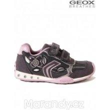 Geox dívčí obuv tenisky BLIKACÍ J64G2C J64G2C tmavě šedá