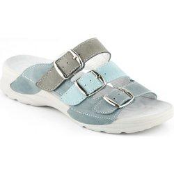 498d379583b0 Medistyle Pantofle BIBIANA zdravotní obuv tyrkys BB-T17 9 ...