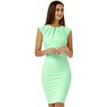 185af712cae2 CityGoddess dámské pouzdrové šaty Helen D2097M mentolová
