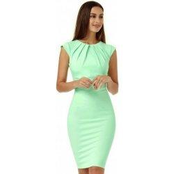 1de8a64bd9a0 CityGoddess dámské pouzdrové šaty Helen D2097M mentolová