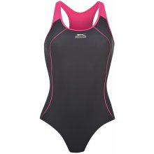 Slazenger Racer back Swim Suit Ladies Navy