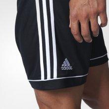 Adidas SQUADRA 17 short černé, Bílé