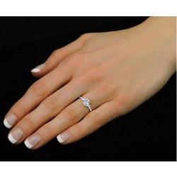 2e7cc86a6 Silvego Stříbrný zásnubní prsten Juliette FNJSM049 alternativy ...