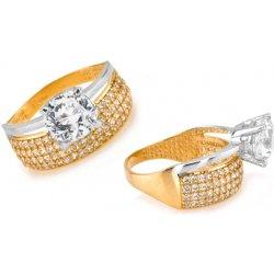 Zlaty Zasnubni Prsten Tiffany 6 Iz6810 Alternativy Heureka Cz