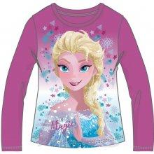 Disney by Arnetta Dívčí tričko Frozen - fialové 0d9d9ba830